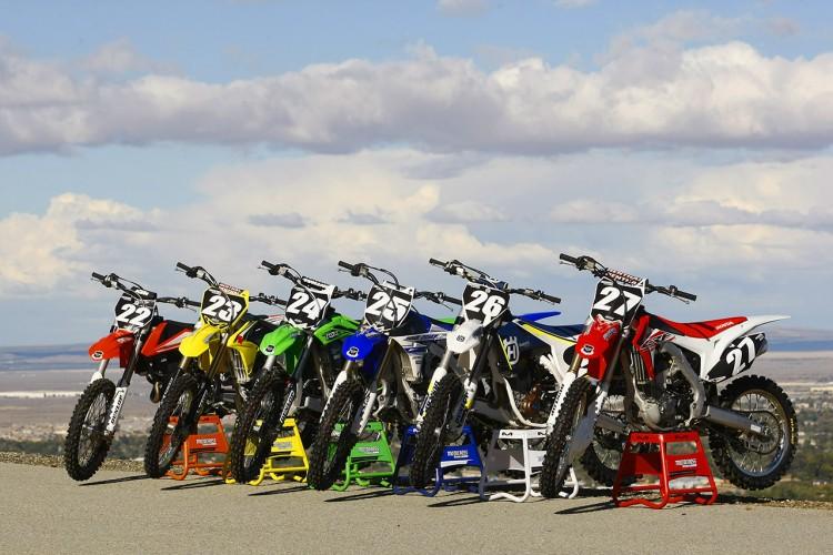 motocross-modell