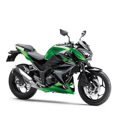 Kawasaki Z 400 ABS Zöld