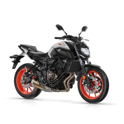 Yamaha MT-07 ABS orange