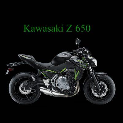 Kawasaki Z 650 Zöld